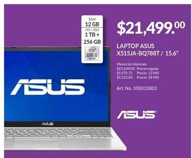 Oferta de Laptop Asus por $21499