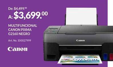 Oferta de Impresoras Canon por $3699