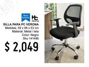 Oferta de Silla de oficina giratoria por $2049