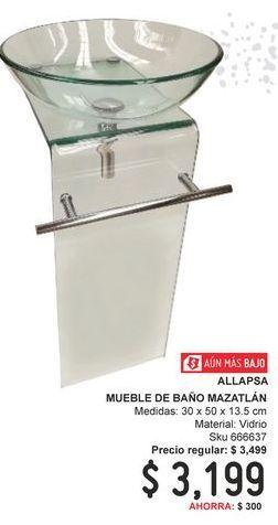 Oferta de Muebles para baño por $3199