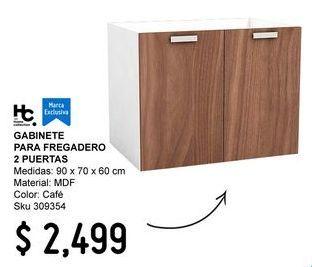 Oferta de Muebles de cocina por $2499