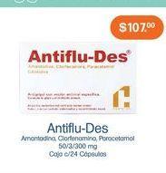 Oferta de Medicamentos antiflu-des por $107