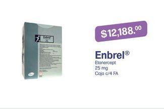 Oferta de Medicamentos Enbrel por $12188