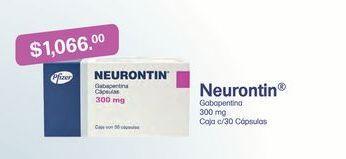 Oferta de Medicamentos Neurotin por $1066