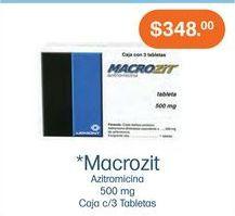 Oferta de Medicamentos Macrozit por $348