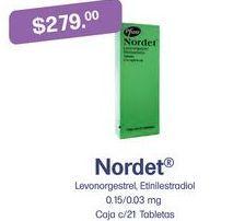 Oferta de Medicamentos Nordet por $279