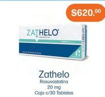 Oferta de Medicamentos Zathelo por $620