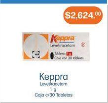 Oferta de Medicamentos Keppra por $2624