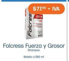 Oferta de Shampoo Folcress por $77