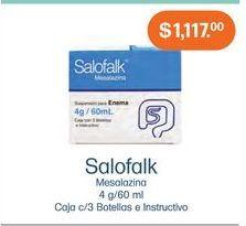 Oferta de Medicamentos Salofalk por $1117