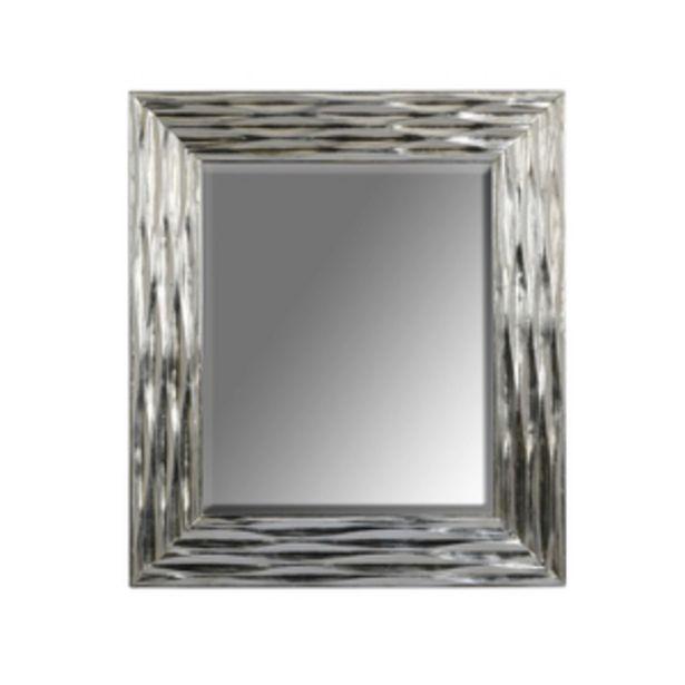 Oferta de Espejo decorativo 73x83cm plata por $3919.3