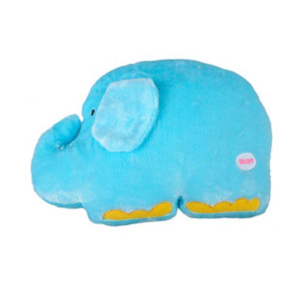 Oferta de Cojín Elefante Azul Luz Led por $599
