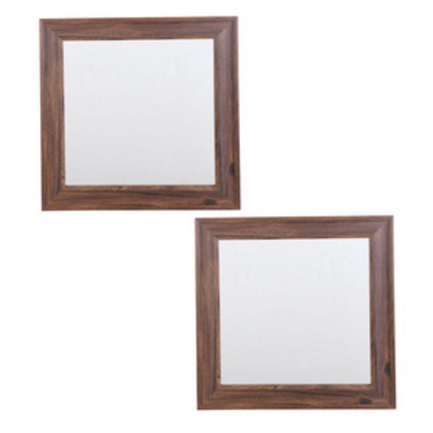 Oferta de Set de 2 espejos 10cm por $244.65