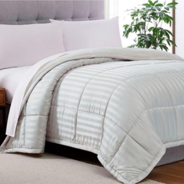 Oferta de Cobertor Home Secrets Dobby Ks Gris por $1199.4