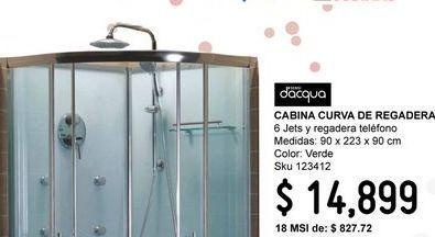Oferta de Cabina de ducha Sensi Dacqua por $14899