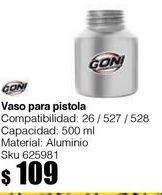 Oferta de Vaso de aluminio estándar para Pistolas: 26, 527, y 528 por $109