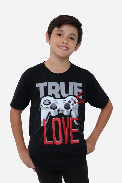 Oferta de Playera Niño MC/TRUE LOVE por $158