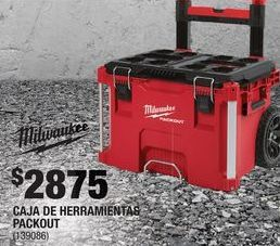 Oferta de Caja de herramientas Milwaukee por $2875
