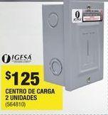 Oferta de Centro de carga de 2 unidades por $125