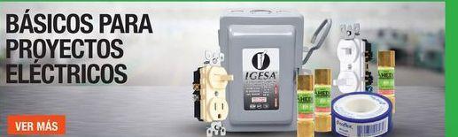 Oferta de Básicos para proyectos eléctricos por