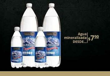 Oferta de Agua con gas Golden Hills por $7.9