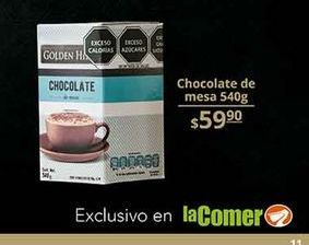 Oferta de Chocolate a la taza Golden Hills por $59.9