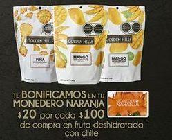 Oferta de Fruta deshidratada con chile Golden Hills por