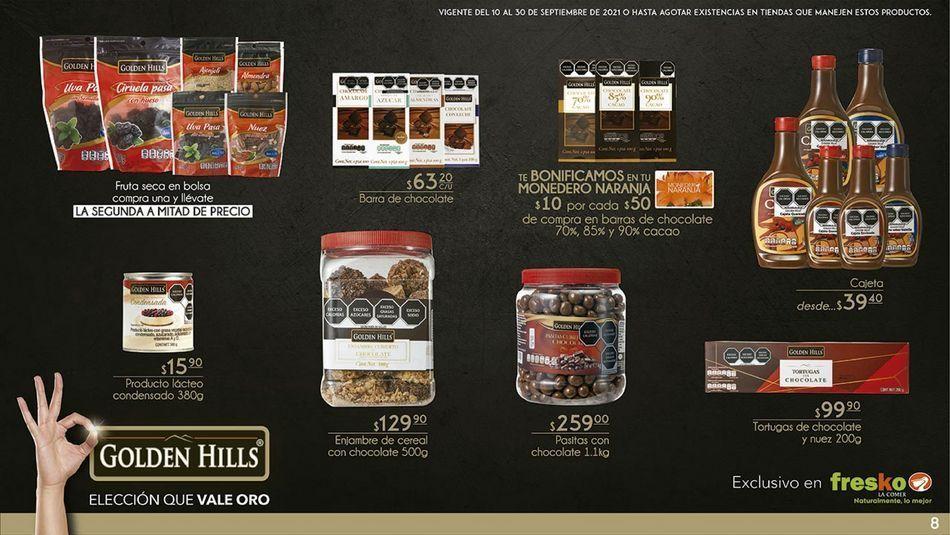 Oferta de Chocolate Golden Hills por
