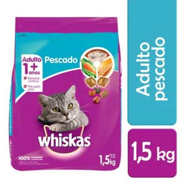 Oferta de Alimento para Gato Whiskas Sabor Mariscos 1.5 Kg por $95
