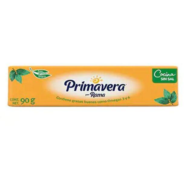 Oferta de Margarina Sin Sal Primavera Cocina 90 gr por $14.8