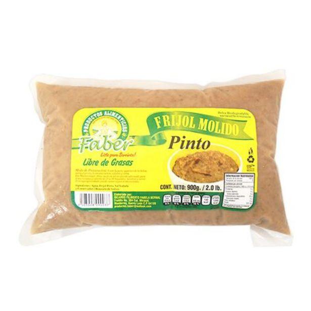 Oferta de Frijol Pinto Molido Faber 900 gr por $44.7