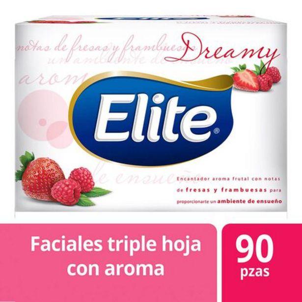 Oferta de Pañuelos Faciales Aroma Fresa Frambuesa Spa Elite  Paquete con 90 Piezas por $2250