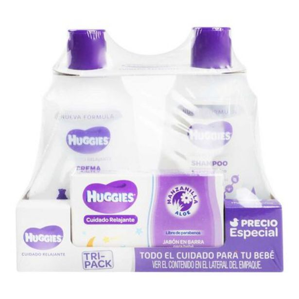 Oferta de Shampoo Huggies Relajante 250ml por $99