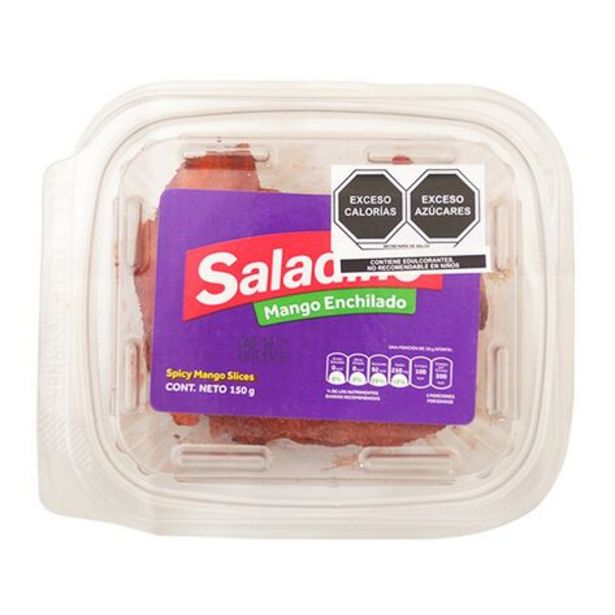 Oferta de Mango Echilado Saladino 150 gr por $52.9