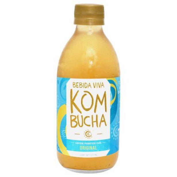 Oferta de Bebida Viva Kombucha Original 355 ml por $39.9