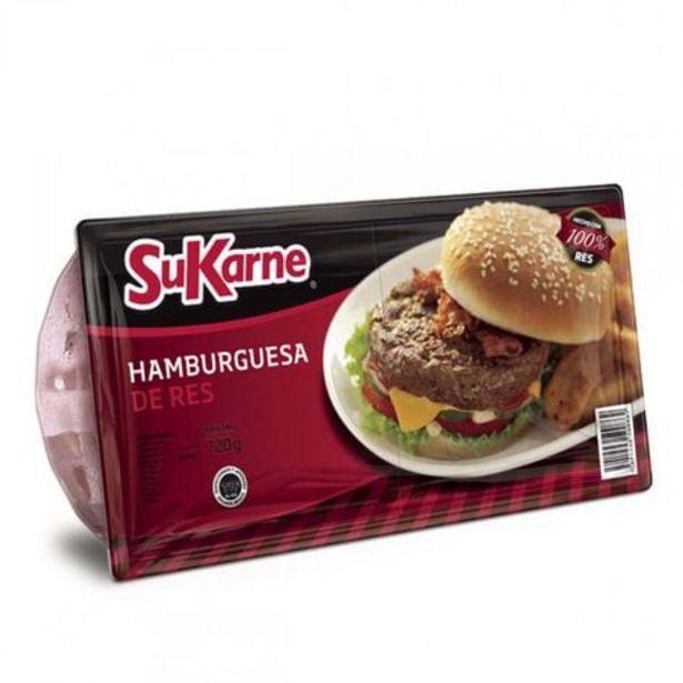 Oferta de Hamburguesa de Res Fina SuKarne 720 gr por $79