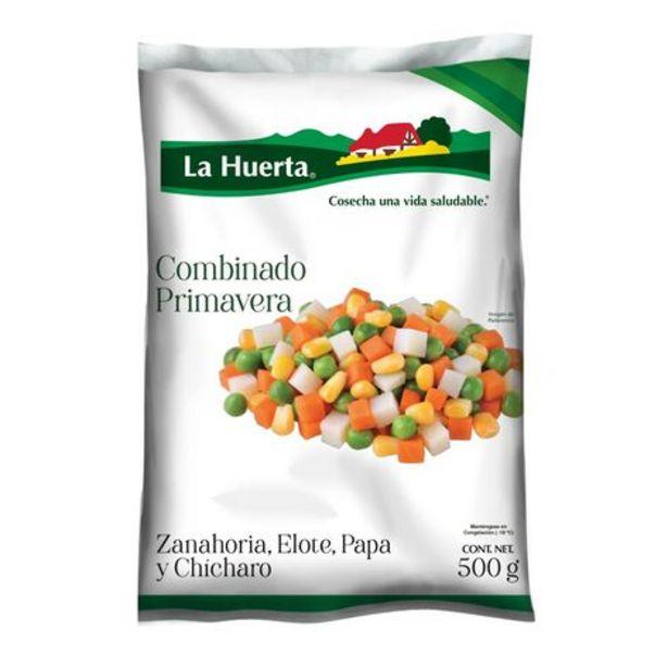 Oferta de Verduras Congeladas Combinado Primavera La Huerta 500 gr por $45.6