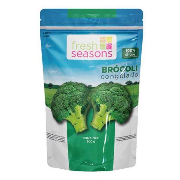 Oferta de Brócoli Congelado Fresh Seasons 500 g por $42.9