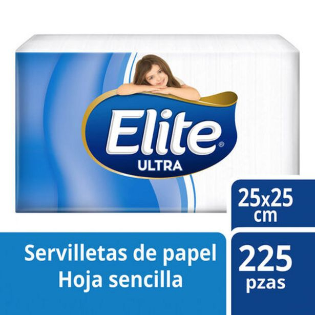Oferta de Servilleta Blanca Elite 225 Pz por $2800