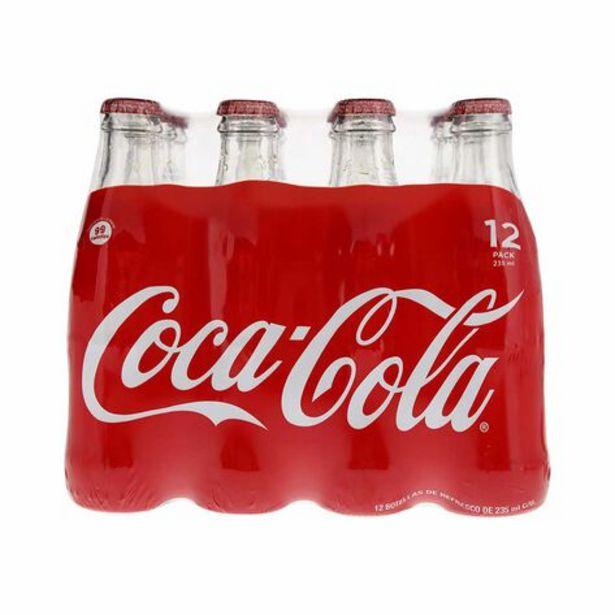 Oferta de Refresco Coca Cola 12 Pieza 12 Pack por $84