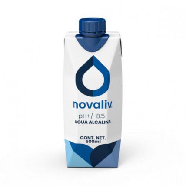 Oferta de Agua Alcalina Novaliv 500 Ml Tetrapak por $21