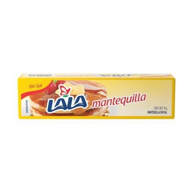 Oferta de Mantequilla Sin Sal Lala Barra 90 gr por $13.3