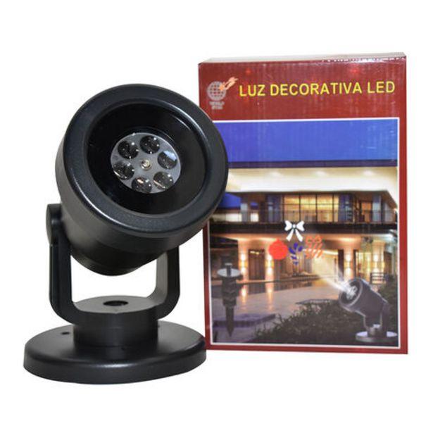 Oferta de Proyector LED Exterior con 12 Cambios Multicolor por $1198