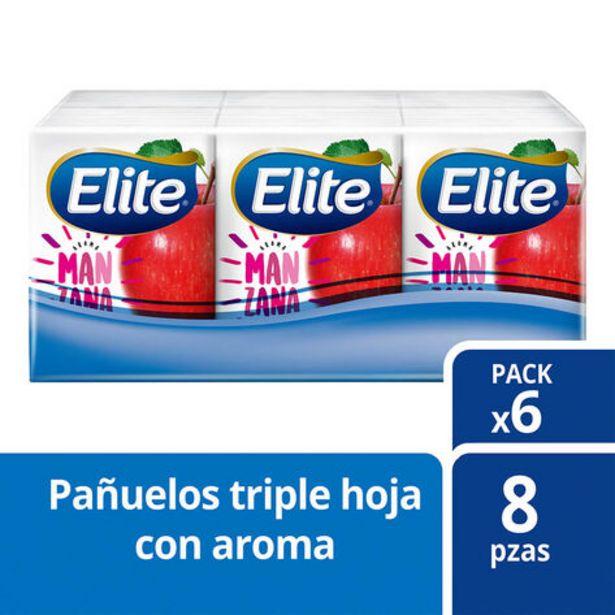 Oferta de Pañuelo Elite Triple Hoja Varios Aromas 6pz por $1450