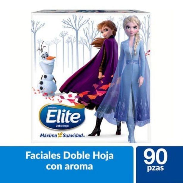 Oferta de Pañuelo Cubo Frozen Elite  90 Pzas por $24