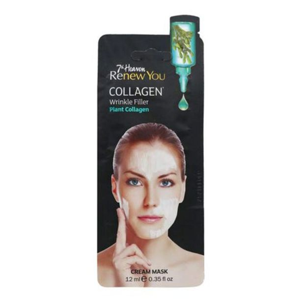 Oferta de Mascarilla Facial 7th Heaven Colágeno Vegetal 1pz por $31.49