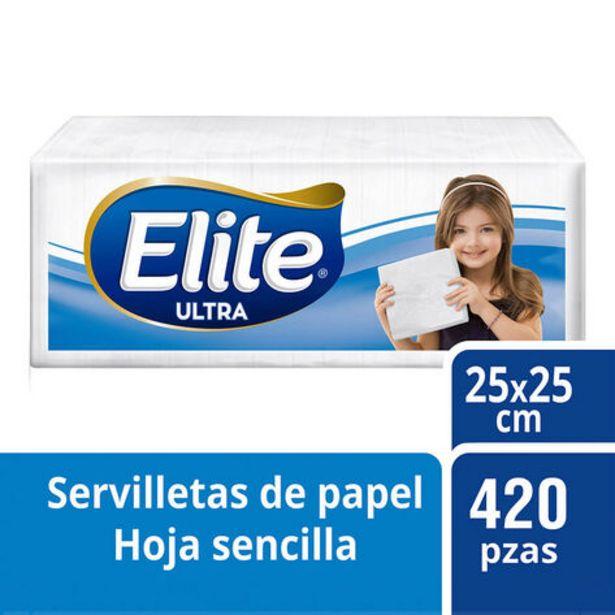 Oferta de Servilletas Elite 450 pzas por $4700