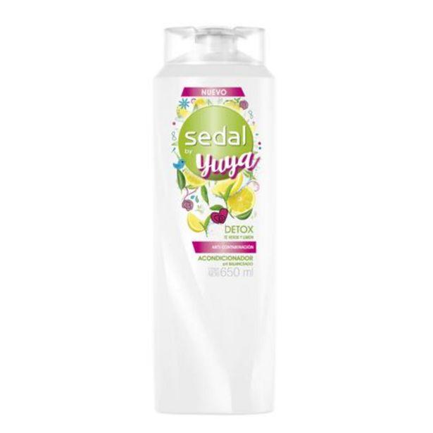 Oferta de Shampoo Sedal Detox Yuya 650ml por $40.5