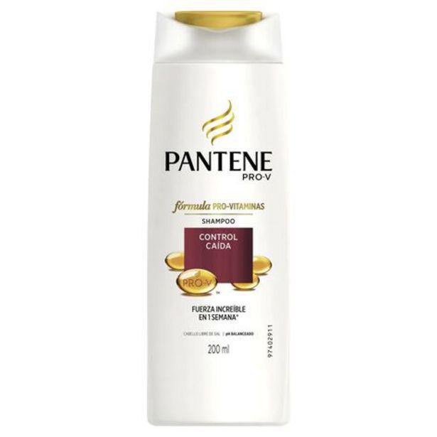 Oferta de Shampoo Pantene Control Caída 200 ml por $24.9