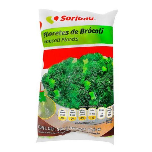 Oferta de Floretes de Brócoli Congelado Soriana En 500 g por $32